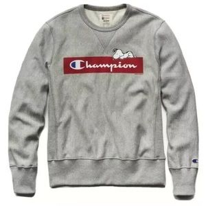 {Champion x Todd Snyder} Small Snoopy Sweatshirt